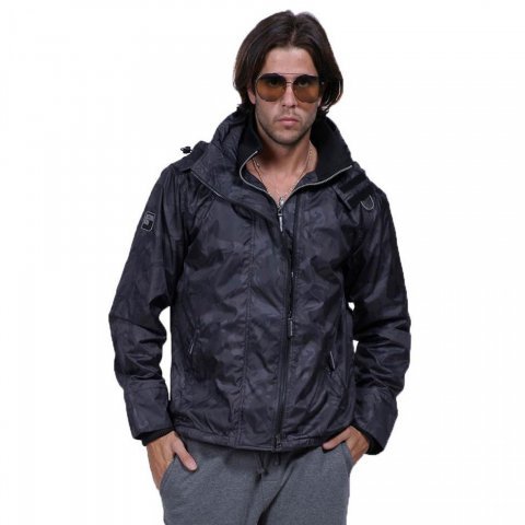 Body Action Body Action Men Winter Fleece Lined Jacket (073822-D.Grey) 0afb847a90c