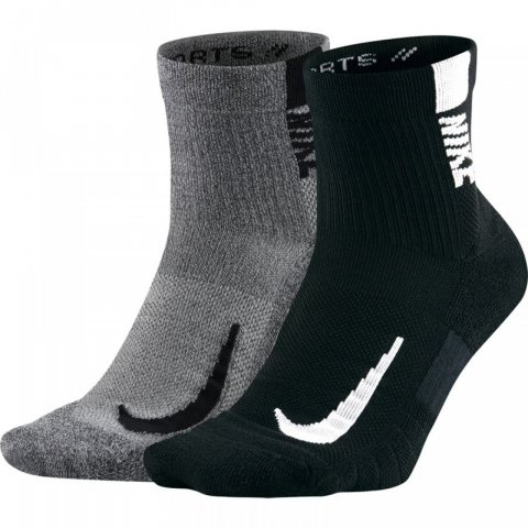 Nike Nike Multiplier Running Socks 2P (SX7556-916) 133d37976df